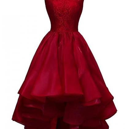 A-line Prom Dresses, Scoop Neck Pro..
