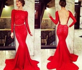 Hot Sales Red Lace M..