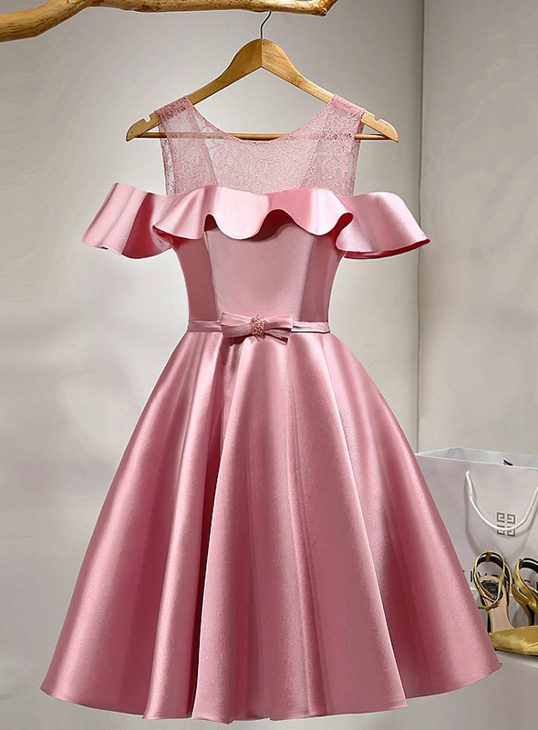 Pink Short Prom Dresses for Girls
