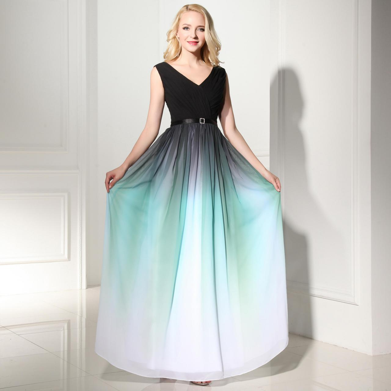 ccaabe1493d Discount Gradient Prom Dresses