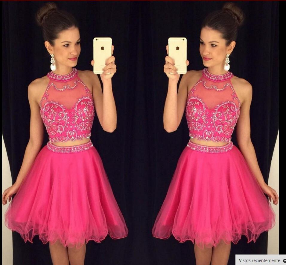 3a044b02700 Charming 2 Pieces Homecoming Dresses