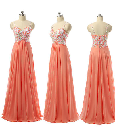 Spaghetti Straps Bridesmaid Dresses White Lace Burnt Orange Empire Waist Long Gowns A Line Pregnant Prom