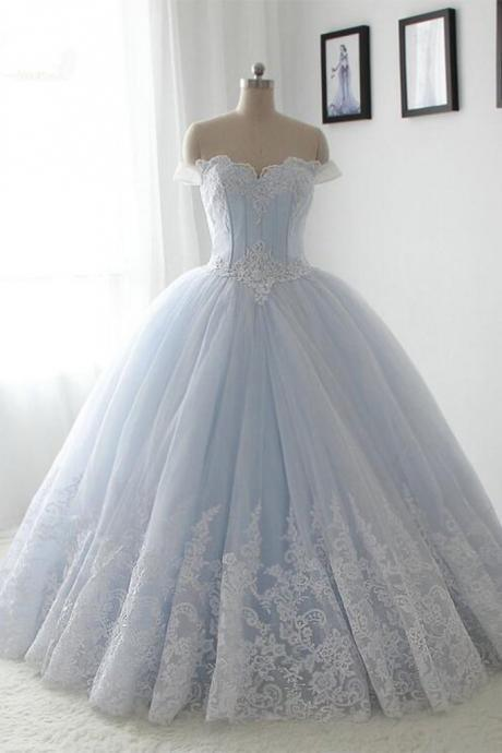 Light Blue Quinceanera Dresses,Lace Quinceanera Dress,Sweetheart Quinceanera Dresses,A-line Quinceanera Dress,Long Quinceanera Dresses,,Princess Quinceanera Dresses,Ball Gown Prom Dresses,Prom Dress,Quinceanera Dress