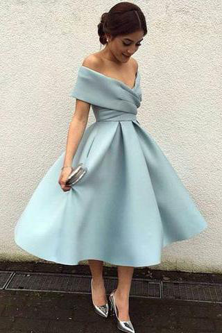 Elegant Homecoming Dress,Vintage Homecoming Dresses,Knee Length Prom Dress,Short Homecoming Dress HD56